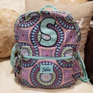Girls Justice S backpack